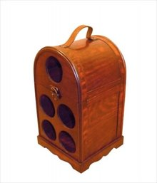 "Exclusive wine furniture ""Henry"" (suitable for 5 bottles of wine)"