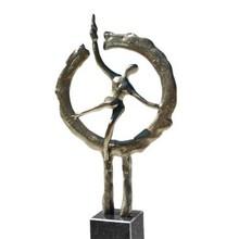 Skulptur En ny vej til en ny begyndelse
