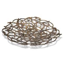 """Eksklusiv bronze skål """"Sammen nyder"""""""