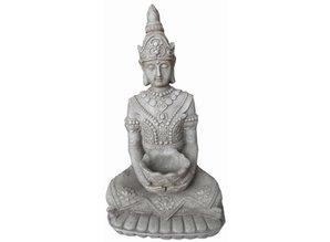 Buddha-statue Kwan Yin (siddende med skala) at købe?