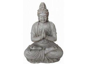Bij ons kunt u Boeddhabeeld Kwan Yin (zittend) bestellen!