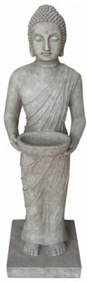 Buddha statue with scale (standing, 100 cm high)