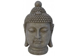 buddha statue kopf f r drinnen und drau en goods and. Black Bedroom Furniture Sets. Home Design Ideas