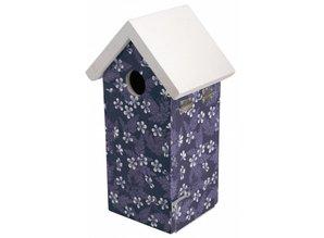 moderne vogelhaus blue tit blue blossom now goods and. Black Bedroom Furniture Sets. Home Design Ideas