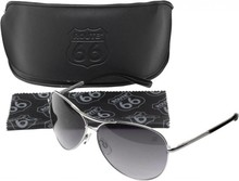 Route 66 collectie! Pilot sunglasses ROUTE 66 (with the ROUTE 66 logo on one of the glass)