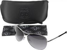 Route 66 collectie! Pilot zonnebrillen ROUTE 66 (voorzien van het logo ROUTE 66 op één van de glazen)