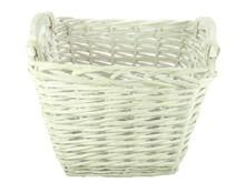 Lifestyle collectie │ Wicker basket multi 'Fiona' (dimensions 36 x 27 x 29 cm)