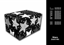 Евтини Коледа Кутии (дизайн Stars) осъди определен размер?