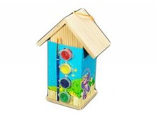 Lifestyle collectie │ Birdhouses to paint (especially for Workshops and children's) self