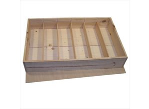 Cheap Wooden Wine Boxes six compartments with separate lid buy?