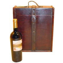 Colonial wooden wine boxes Laurens 3-way (size 307 x 130 x 360 mm)