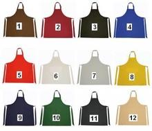 Professionele Keukenschorten (met verstelbare hals en voorzien van een voorvakje, 65% Polyester/35% katoen, 240 gr/m2)