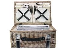 """Lifestyle collectie │ Picknickmanden """"Summer"""" (incl. inhoud voor 4 personen)"""