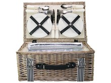 "Lifestyle collectie │ Picnic Baskets ""Summer"" (incl. Content for four people)"