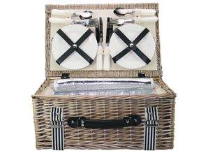 """Lifestyle collectie │ Евтини кошници за пикник """"Лято"""" (вкл. Съдържание за четирима души), за да купуват? При нас можете да получите евтини кошници за пикник """"Лято"""" (. Content вкл за четирима души) купуват и да поръчате онлайн! Много шик плетената кошница за пикник с великолепе"""