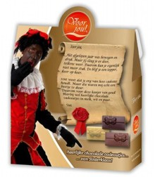 Voor Jou! Heerlijke chocolade cadeautjes van Sinterklaas!
