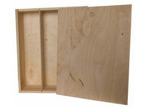 Buy cheap three-bin wine boxes with sliding lid?