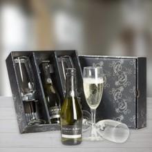 "Eksklusive Champagne pakker ""Scavi & Ray"" i gaveæsken"