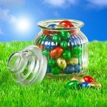 Евтини стъклен буркан, пълен с шоколадови яйца Великден покупка?