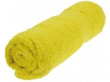 Goedkope handdoeken kopen? Goedkope handdoeken in de kleur geel (afmeting 50 x 100 cm)