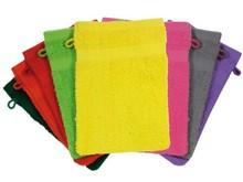 Billige gule vaskeklude (Terry, 100% bomuld)