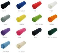 Stor frottéhåndklæder (størrelse 70 x 140 cm, kvalitet / vægt 360 g / m2, 100% bomuld)
