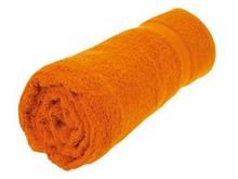 Goedkope grote oranje baddoeken (70 x 140 cm) kopen?