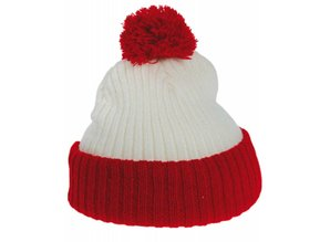 Cheap blue and white Pom Pom baby hats buy?