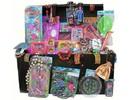 Голяма луксозна дървена Grabbeldagen ракла с бюлетини подаръци (за деца на възраст от 3 до 8)