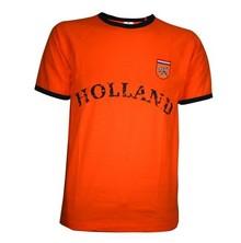 Billige Orange Holland afgrøder Retro T-shirts køb?
