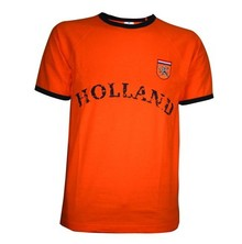 Cheap orange Holland crops Retro T-Shirts buy?