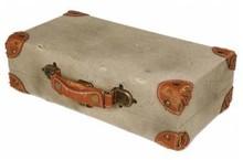 Старомодни куфари за две бутилки вино (размер 365 х 200 х 105 мм)