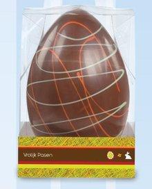 Superwide chokolade påskeæg 1 kg Picasso i luksus gaveæske!