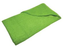 Beach towels in the color light green (lemon) size 100 x 180 cm