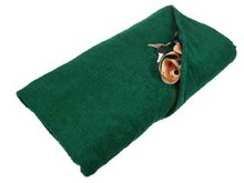 Billige mørkegrønne badehåndklæder (str. 100 x 180 cm) købe?