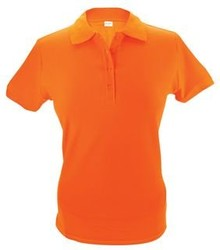 Orange Shirt (pique polo) Polo (fås i størrelserne S / XXL)