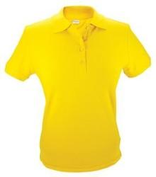 Gul Shirt (pique polo) Polo (fås i størrelserne S / XXL)