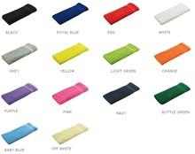 Terry gæst håndklæder i forskellige farver (størrelse 30 x 50 cm)
