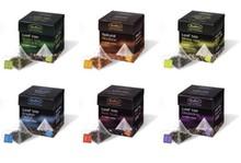 Bradleys Pyramid Leaf te (pakket per 15 stykker af en smag i én pakke)