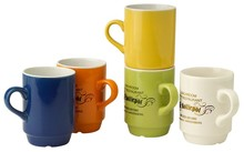 Porcelain Senseo coffee mugs (especially for the coffee pod machine)