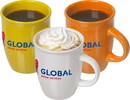 Porseleinen senseo koffie mokken (speciaal voor de coffee pad machine)