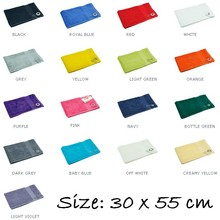 Luksus frotté klude Golf (Golf Håndklæder, 100% bomuld frotté, størrelse 30 x 55 cm, vægt 450 g / m2)