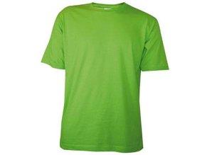 Billige lysegrønne t-shirts med korte ærmer og rund hals!
