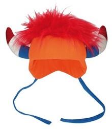 Orange Holland Viking hats (one uni adult size)