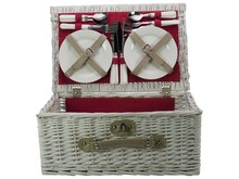"Lifestyle collectie │ Cheap Picnic Baskets ""Angelina"" (including cutlery and crockery for 4 people) to buy?"