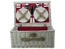 """Lifestyle collectie │ Goedkope Picknickmanden """"Angelina"""" (incl. bestek en servies voor 4 personen) kopen?"""