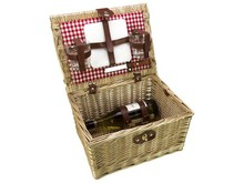 "Lifestyle collectie │ Cheap wicker baskets Tapas ""Gloria"" for 2 persons (incl. accessories)"