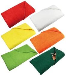 Store terry badehåndklæder i en sværvægter 550 g / m2 (størrelse 100 x 180 cm)
