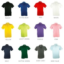 100% cotton unisex polo shirts (polo pique)