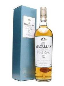 Whisky Macallan 15 jaar Fine Oak, 0,7L, 43,0%